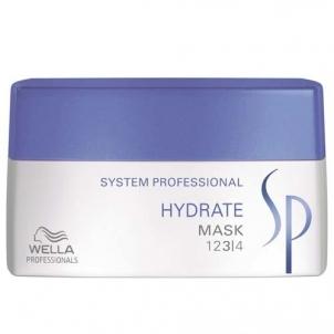Kaukė plaukams Wella SP Hydrate Mask Cosmetic 200ml Kaukės plaukams