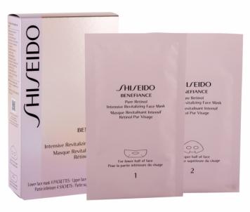 Kaukė Shiseido BENEFIANCE Pure Retinol Intensive Face Mask Cosmetic 4ks Kaukės ir serumai veidui