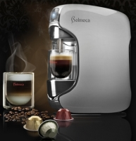 Belmoca Belina Capacity 1L/ Up to 25 cups of espresso/ Automatically moving spout/ One-touch display/ Silver Kafijas automāts