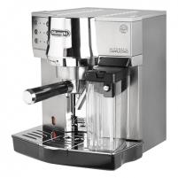 Kavos aparatas Delonghi Coffee maker EC 850.M Pump pressure 15 bar, Built-in milk frother, Semi-automatic, 1450 W, Silver