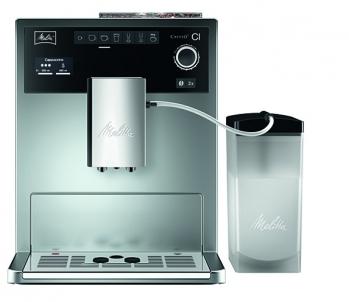 Kavos aparatas Melitta E970-101 Ci espresso sidabro Kafijas automāts