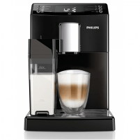Kavos aparatas Philips Coffee maker EP3550/00 Pump pressure 15 bar, Built-in milk frother, Fully automatic, Black Kafijas automāts