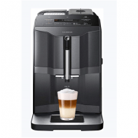 Kavos aparatas SIEMENS Coffee Machine TI313219RW Pump pressure 15 bar, Built-in milk frother, Fully automatic, 1300 W, Black/ stainless steel