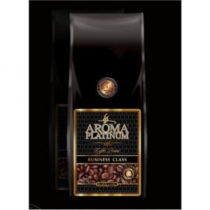 Kavos pupelės Aroma Platinum Business Class Black Label Coffee beans, 100% Arabika, 1000 g Kava, arbata