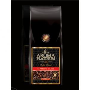 Kavos pupelės Aroma Platinum Espresso Red Label Coffee beans, 70% Arabika, 30% Robusta, 1000 g Kava, arbata
