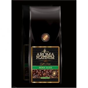 Kavos pupelės Aroma Platinum Moka Class Green Coffee beans, 85% Arabika, 15% Robusta, 1000 g Kava, arbata