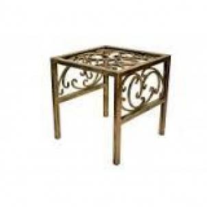 Kėdė 10-1323 44*43*43cm Kalviški gėlių stovai LV
