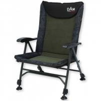 Kėdė DAM CamoVision Easy Fold Chair With Armrests Alu Iepazīšanās mēbeles