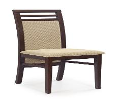 Kėdė SYLWEK 4 tamsus riešutas/torent smėlio Medinės valgomojo kėdės