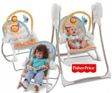 Kėdutė-sūpynė Fisher-Price 3 in 1 BFH07 Kitos prekės kūdikiams