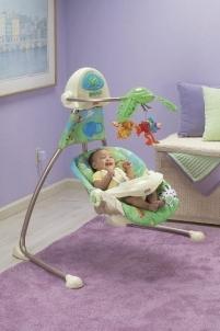 Kėdutė supynė k6077 Fisher-Price MATTEL Vaikiški baldai, maitinimo kėdutės