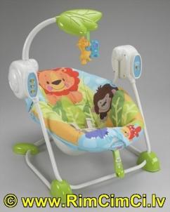 Kėdutė-supynė Nuostabioji planeta Fisher Price T2066 Kitos prekės kūdikiams