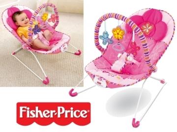 Kėdutė-supynė Rožiniai sapnai Fisher Price T5051-0 Kitos prekės kūdikiams