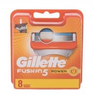Keičiamasis peiliukas Gillette Fusion 5 Power 8vnt Waxing