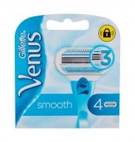 Keičiamasis peiliukas Gillette Venus Smooth 4vnt Vaksācija