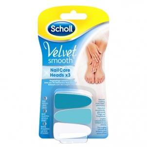 Keičiamos galvutės Scholl Velvet Smooth Kojų priežiūros priemonės