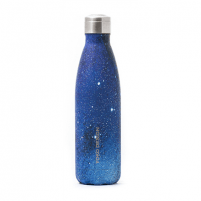 Kelioninė gertuvė Yoko Design Galaxy Isothermal bottle, Blue, Capacity 0.5 L, Diameter 7 cm Tourist vessels