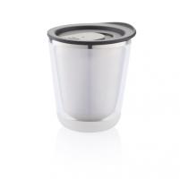 Kelioninis puodelis Dia, juodas Hermetiniai indeliai