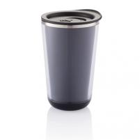 Kelioninis puodelis Dia 350ml, juodas