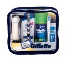Kelioninis rinkinys vyrui Gillette Mach3 Travel Kit Kvepalų ir kosmetikos rinkiniai