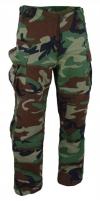 Kelnės SFU CAMO Military Gear WOODLAND Rip-Stop