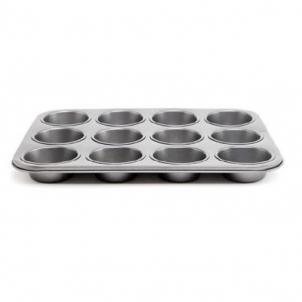 Kepimo forma keksiukams 12vnt. 26.5*18.5*2.8cm Virtuves piederumi, veidlapas