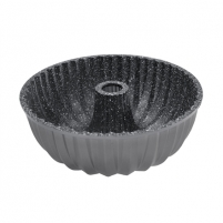 Kepimo forma Stoneline Bundt cake baking pan 8023 Silver grey, Non-stick coating, Cooking utensils, the form