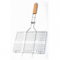 Kepimo grotelės med.rank. 33*20cm BBQ Cooking equipment