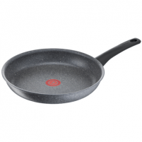 Keptuvė TEFAL Mineralia Force G1230653 Frying, Diameter 28 cm, Suitable for induction hob, Fixed handle, Grey