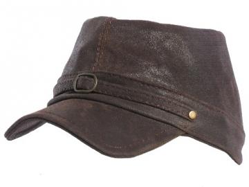 Kepurė Konfederatka, odinė Brąz Krek