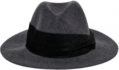 Kepurė ONLY ONLCOWBY CITY WOOL HAT 15213992 Dark Gray Kepurės