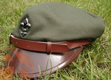 Kepurė skautų ZHP green Galvos apdangalai