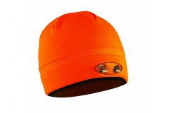Kepurė su lemputėmis PowerNeed Sunen POWERCAP Headlamp Beanie LED, orange Galvos apdangalai