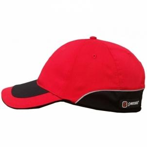 Kepurė su snapeliu Pesso, raudona Darbu cepures