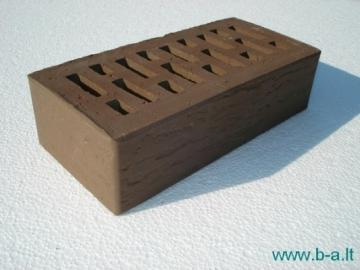 Perforated facing bricks 'Vecais Brunis' 11.202300L