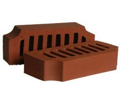 Perforated figural bricks Janka F12 11.101112L Ceramic bricks