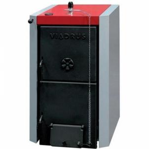 Ketinis kieto kuro katilas VIADRUS BASIC U 22 5 sekcijų A traditional solid fuel boilers