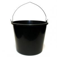 Kibiras IWIR16 statybinis plastikinis juodas 16 L Kibirai, vonelės, talpos