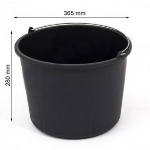 Kibiras IWIR20 statybinis plast.juodas 20 L Buckets