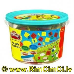 Kibirėlis HASBRO 23326 / 23414 Play-Doh Fun with Numbers Lavinimo žaislai
