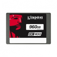 "Kietas diskas Kingston DC400 960 GB, SSD form factor 2.5"", SSD interface SATA, Write speed 520 MB/s, Read speed 555 MB/s"