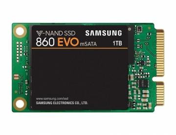 Kietas diskas Samsung SSD 860 EVO, 1TB, mSATA, 550/520 MB/s