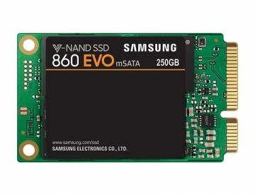 Kietas diskas Samsung SSD 860 EVO, 250GB, mSATA, 550/520 MB/s
