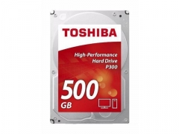 Kietas diskas Toshiba P300, 3.5, 500GB, SATA/600, 7200RPM, 64MB cache