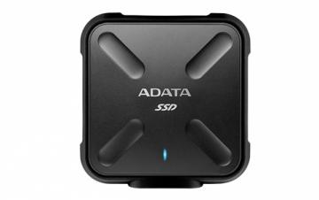 Kietasis diskas - išorinis ADATA SD700 Ext SSD 256GB USB 3.1 Black