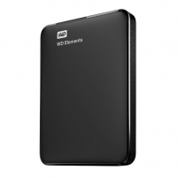 Kietasis diskas - išorinis External HDD WD Elements Portable 2.5inch 3TB USB3.0, Black