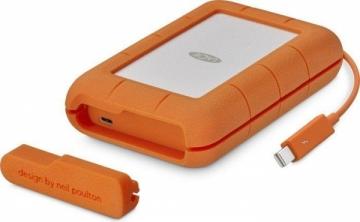 Kietasis diskas - išorinis LaCie Rugged Thunderbolt 5TB, 2,5, USB 3.1 TYPE C