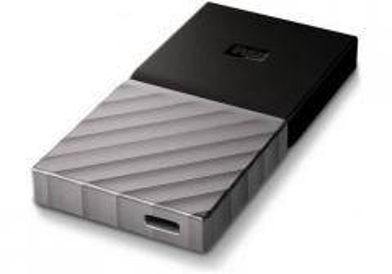 Kietasis diskas - išorinis WD Blue SSD My Passport SSD 256GB Silver Worldwide