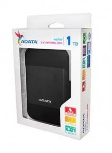 Kietasis diskas Adata drive HD700 1TB 256-bit AES encryption, waterproof