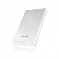 Kietasis diskas ICY BOX, 2,5'' SATA HDD external enclosure to USB 3.0,Silicone Sleeve